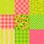 набор · простой · бесшовный · текстуры · зеленый · структур - Сток-фото © jet