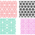 seamless geometric line pattern in korean style stock photo © jiaking1
