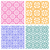 seamless floral pattern in korean stencil style stock photo © jiaking1
