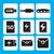 ricordo · carta · icona · design · stile · digitale - foto d'archivio © jiaking1