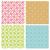 seamless chinese brick wall pattern in monochrome stock photo © jiaking1