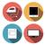 tv · icono · botón · televisión · electrónica · diseno - foto stock © jiaking1