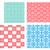 seamless tracery pattern in modern korean style stock photo © jiaking1