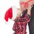 dziewczyna · całując · ciąży · matka · shot · mały - zdjęcia stock © jirkaejc
