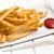 sültkrumpli · villa · forró · szürke · eszik · gyors - stock fotó © jirkaejc