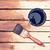 painting wooden table using paintbrush  stock photo © jirkaejc