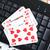 pôquer · on-line · cartões · branco · laptop · jogos · de · azar - foto stock © jirkaejc