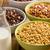 jedzenie · zboża · sexy · kobieta · posiedzenia · bed · zbóż - zdjęcia stock © jirkaejc
