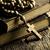 katolikus · kereszt · feszület · öreg · könyvek · könyv - stock fotó © jirkaejc