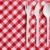 plastik · çatal · bıçak · takımı · masa · örtüsü · gıda · akşam · yemeği - stok fotoğraf © jirkaejc