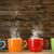 porselein · koffie · cafe · zwarte · leven - stockfoto © jirkaejc