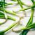 tavasz · hagyma · fehér · asztal · étel · levél - stock fotó © jirkaejc