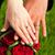 жених · цветы · рук · свадьба - Сток-фото © jirkaejc