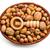wooden nutcracker and nuts in basket stock photo © jirkaejc