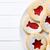 Noel · kurabiye · üst · görmek · plaka - stok fotoğraf © jirkaejc