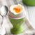 főtt · tojás · izolált · fehér · narancs · reggeli · étel - stock fotó © jirkaejc