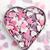 zoete · kleurrijk · harten · hart · achtergrond · Rood - stockfoto © jirkaejc