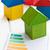 fából · készült · ház · energiahatékonyság · épület · zöld · játék - stock fotó © jirkaejc