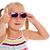 little girl in sunglasses stock photo © jirkaejc