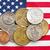 米国 · 銀 · コイン · お金 - ストックフォト © jirkaejc