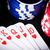 blackjack · carte · da · gioco · casino · poker · chips · mano · club - foto d'archivio © jirkaejc