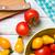 tomatoes on kitchen table stock photo © jirkaejc