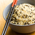 crudo · arroz · tazón · mesa · naturaleza · hoja - foto stock © jirkaejc