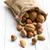 various nuts in jute bag stock photo © jirkaejc