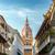 古い · 黄色 · コロニアル · 教会 · 美しい · 青空 - ストックフォト © jkraft5