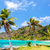 tres · palmeras · Panamá · hasta · turquesa · Caribe - foto stock © jkraft5