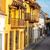 cartagena colonial street view stock photo © jkraft5