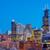 Чикаго · ночь · центра · США · луна · Skyline - Сток-фото © jkraft5
