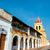 church and balconies stock photo © jkraft5