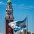 zászló · Buenos · Aires · Argentína · vidék · ruha · textil - stock fotó © jkraft5