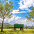 вино · стране · Villa · линия · Blue · Sky · небе - Сток-фото © jkraft5