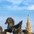 eski · saat · kule · kale · Sri · Lanka · ev - stok fotoğraf © jkraft5
