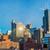 タウン · シカゴ · 表示 · 周りに · ミシガン州 · オフィス - ストックフォト © jkraft5