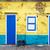 黄色 · 白 · コロニアル · 建物 · 歴史的 · センター - ストックフォト © jkraft5