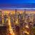 Чикаго · ночь · панорамный · мнение · центра · США - Сток-фото © jkraft5