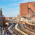 поезд · центра · Чикаго · Иллинойс · США · здании - Сток-фото © jkraft5
