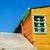 ciel · bleu · bâtiment · ville · rue · été · bleu - photo stock © jkraft5