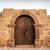 mooie · steen · entree · houten · deur · koloniaal - stockfoto © jkraft5