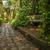 石 · パス · 庭園 · 方法 · 春の花 · 開花 - ストックフォト © jkraft5