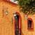 コロニアル · 壁 · ドア · 青 · スペイン語 · スタイル - ストックフォト © jkraft5