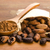 cacao · fagioli · naturale · tavolo · in · legno · cioccolato · cucina - foto d'archivio © joannawnuk