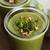 緑 · クリーム · ブロッコリー · スープ · 周りに · ボウル - ストックフォト © joannawnuk