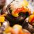 gevuld · champignons · voedsel · kaas · vlees · tomaat - stockfoto © joannawnuk