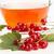 kırmızı · frenk · üzümü · fincan · karpuzu · ahşap · masa · ahşap - stok fotoğraf © joannawnuk