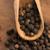 siyah · biber · tanesi · beyaz · biber · makro · tohumları - stok fotoğraf © joannawnuk