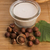 hazelnoot · melk · gezondheid · tabel · drinken · ontbijt - stockfoto © joannawnuk